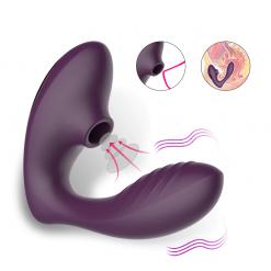Vagina Sucking Vibrator 10 Speed Vibrating Oral Sex Suction Clitoris Stimulation Female Masturbation Erotic Sex Toys For Adult